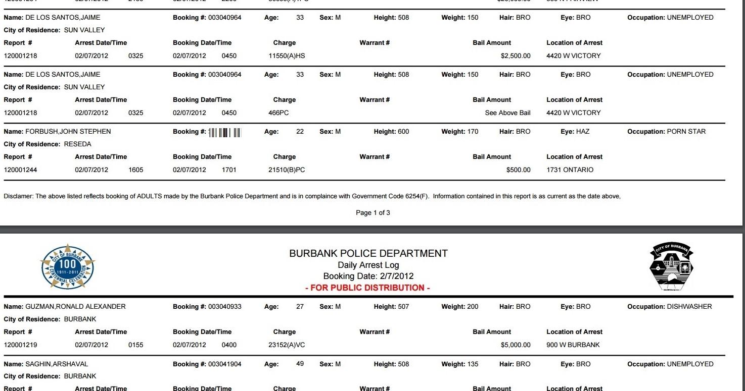 John forbush 2012 arrest employment PORN STAR(1)
